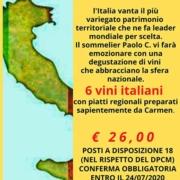 vini italia serata degustazione