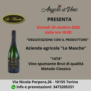 """Degustazione con l'Azienda Agricola """"Le Masche""""."""
